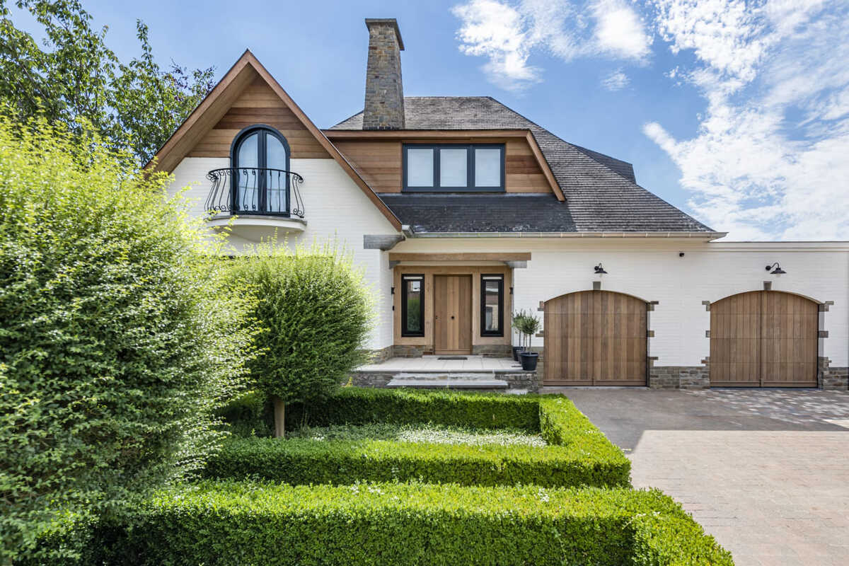 Klassieke villa krijgt moderne make-over