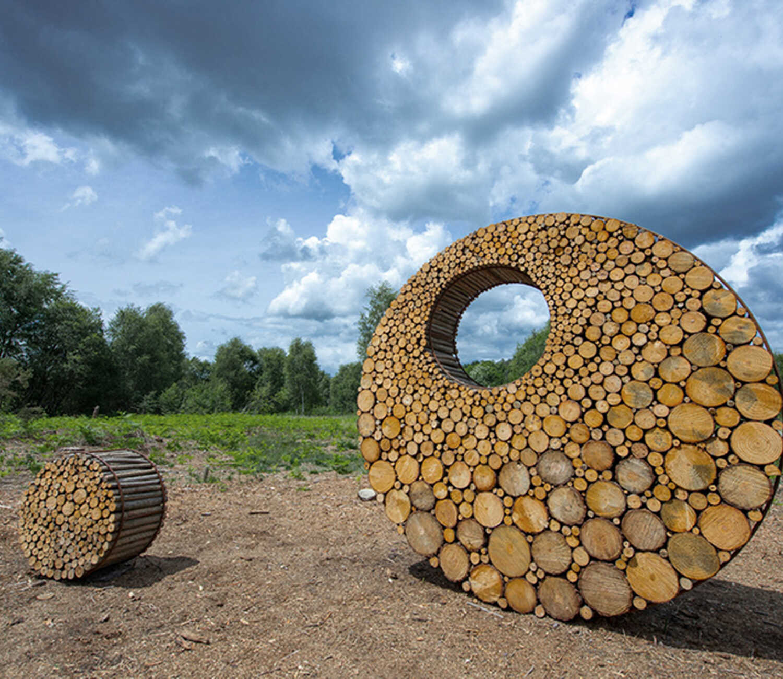 Sentiers d'Art in Condroz-Famenne, 141 km kunst in de natuur